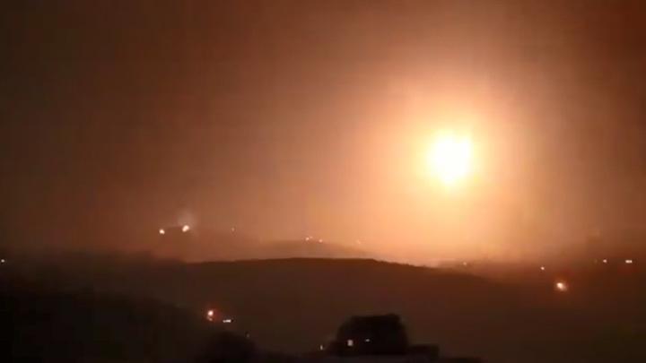 В результате удара террористического Израиля по востоку Сирии погибли 40 человек