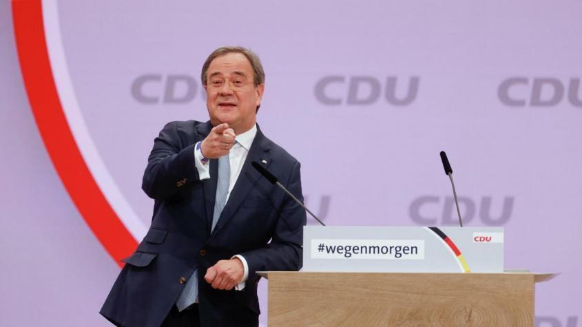 Новым председателем правящего в Германии ХДС стал Армин Лашет