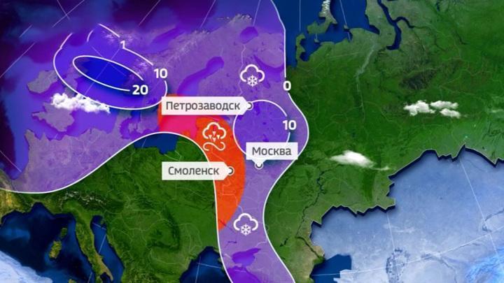 На смену аномальным морозам в России придут аномальные оттепели