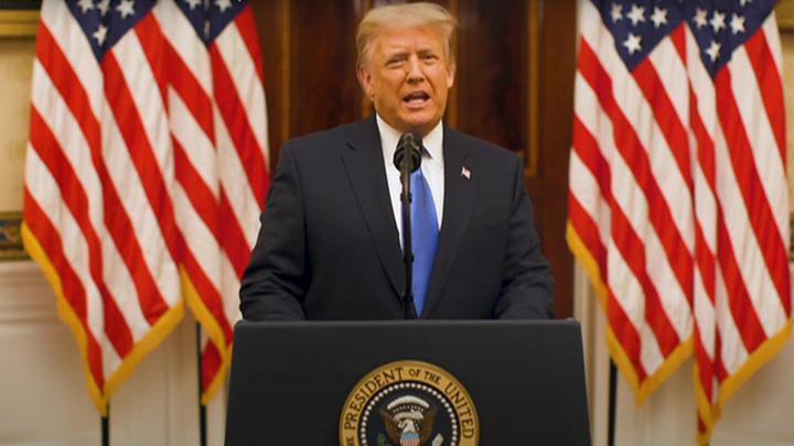 Трамп пожелал администрации Байдена успехов в деле сохранения Америки