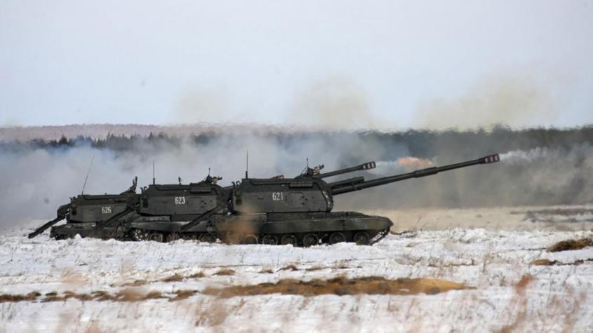 В России впервые провели военные учения нового типа