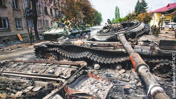 ЕС разрушил любимую легенду Саакашвили о войне с Россией