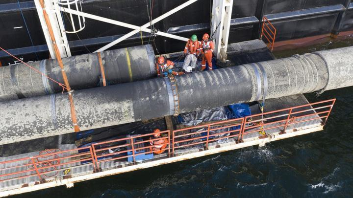 Трубоукладчик «Фортуна» возобновил укладку газопровода «Северный поток – 2»
