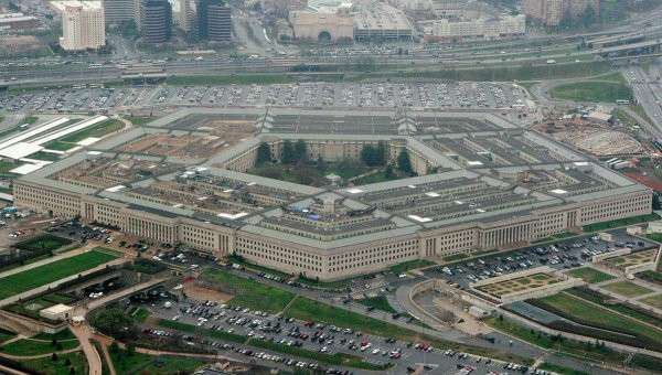 Здание Пентагона. Архивное фото