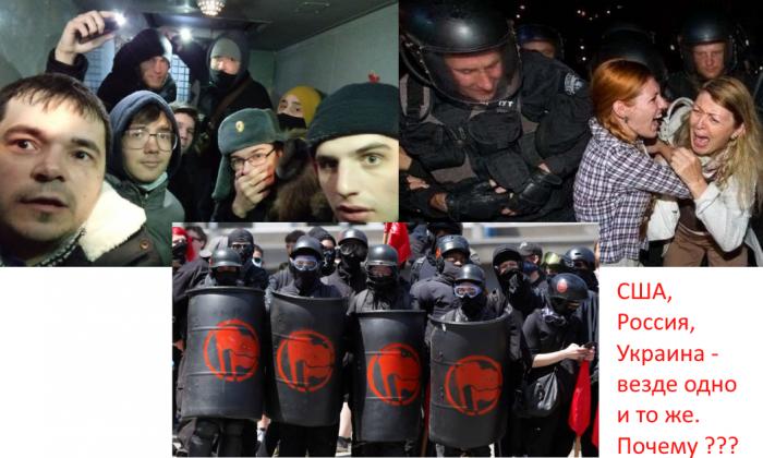 Протесты в России, Белоруссии, Украине, США, Европе: почему мы везде видим одно и то же?