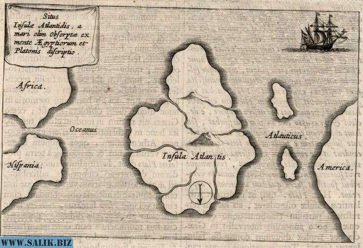 Как Афанасий Кирхер нашёл карту Атлантиды в библиотеке Ватикана