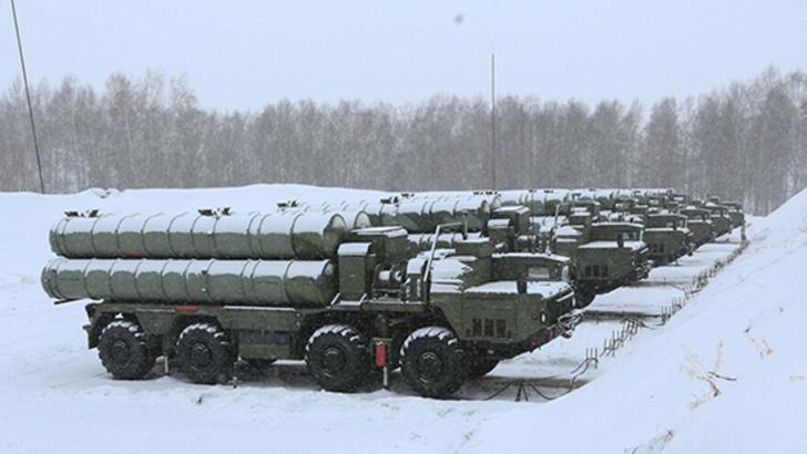ЗРС С-400 заступила на боевое дежурство под Самарой