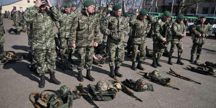 Украинские военные массово отказываются воевать в Донбассе