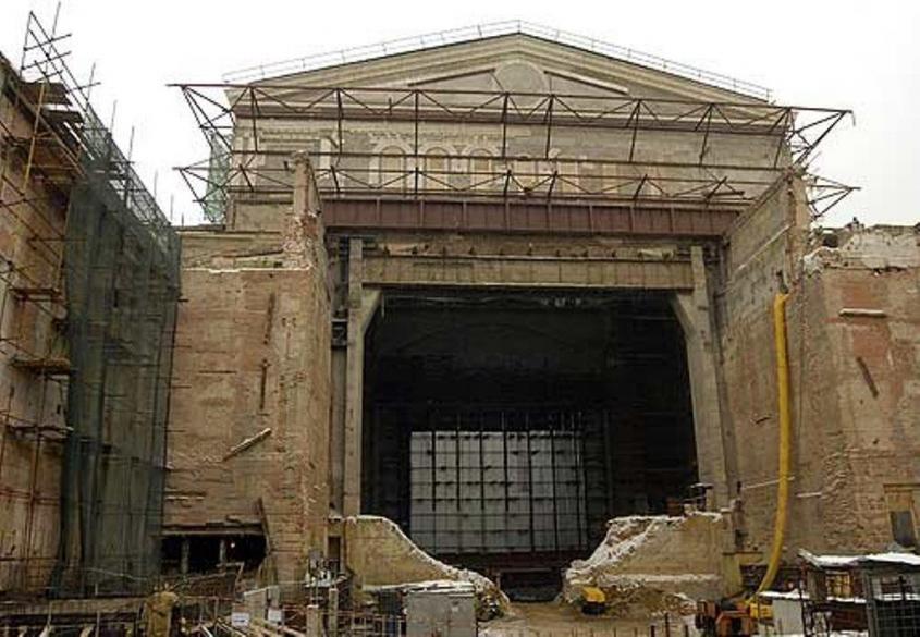 Большой театр в Москве – 27 метров под землёй. Выкопали или откопали?