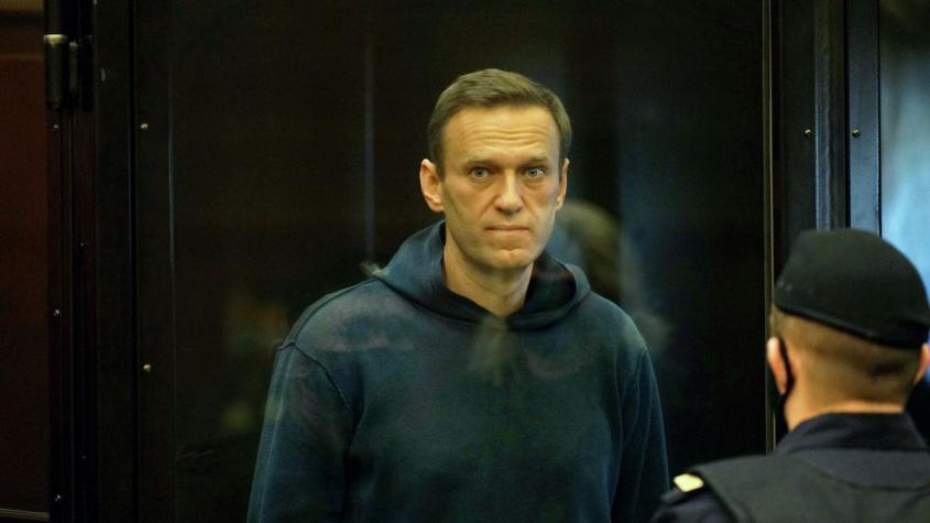 Алексей Навальный во время заседания Мосгорсуда – РИА Новости, 1920, 02.02.2021