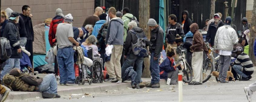 Бедность жителей США – теперь это норма их жизни