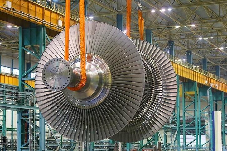 Производство первой в России тихоходной паровой турбины набирает обороты