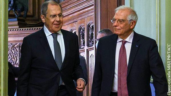 Глава дипломатии ЕС Боррель, с теском провалил свою миссию в Москве