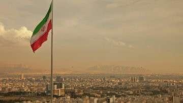 Вид на Тегеран, Иран, архивное фото