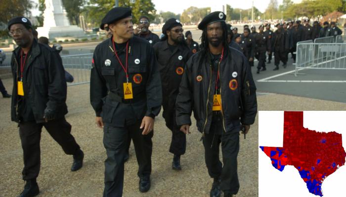 Раскол в США: «Техас для техасцев»? Марши негров-расистов не хотите ли?