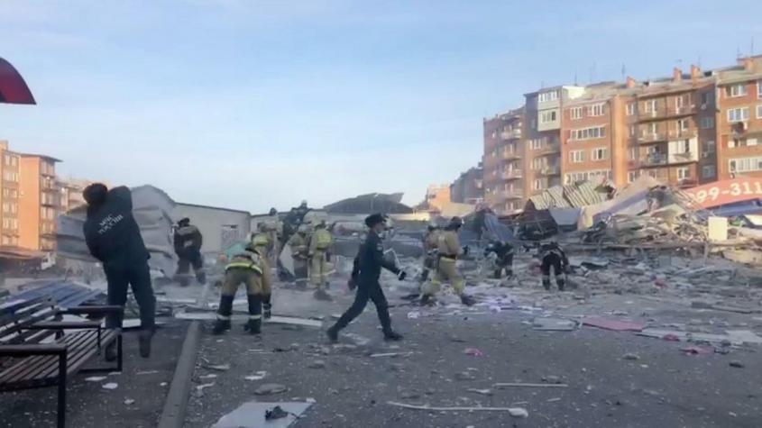 Взрыв в супермаркете во Владикавказе: нашли живого охранника