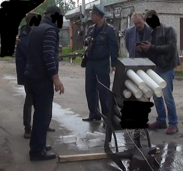 Сделано в России: уникальный «Медицинский» огнетушитель (распылитель)