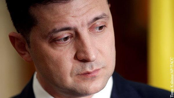 В поисках изменников Родины Зеленский теряет поддержку электората