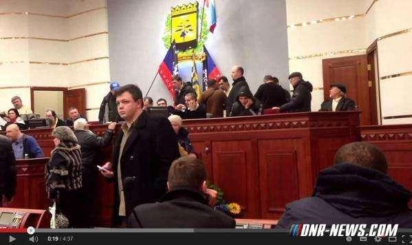 Семенченко принимал участие в создании ДНР?