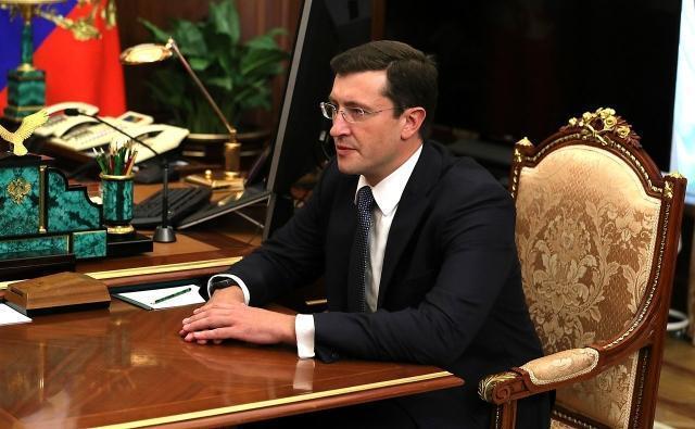 Нижегородский губернатор Глеб Никитин