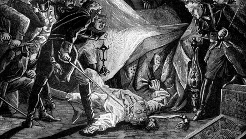 Как дикая Англия веками убивала российских государей
