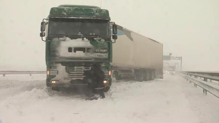 Крымский Армагеддон: переправу на материк парализовала снежная буря