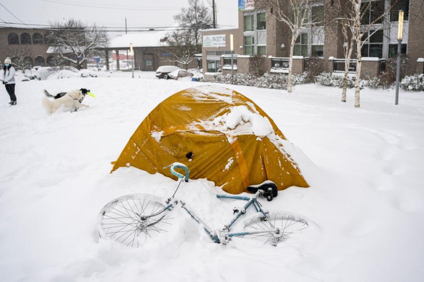 Картинка из замёрзшего Хьюстона убивает адептов Запада наповал