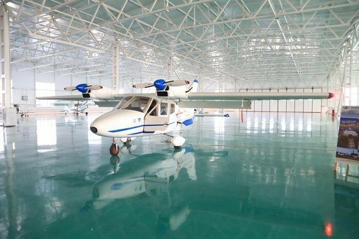 Цех по сборке легкомоторных самолетов открыли на базе ОАО «Концерн КЭМЗ» в Дагестане
