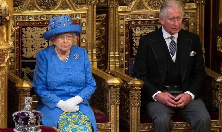 Королева Великобритании Елизавета и Принц Чарльз
