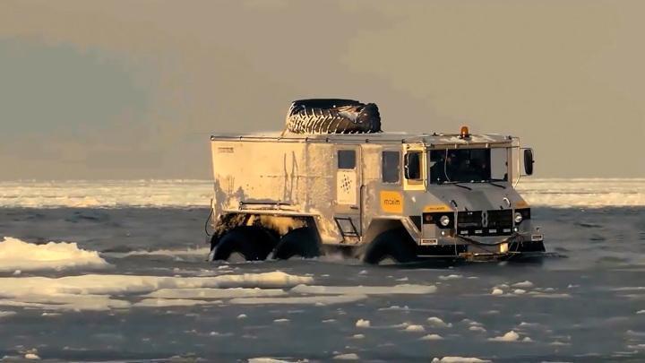 В Кургане запускают серийное производство арктических вездеходов «Бурлак»