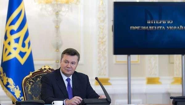 Хроники государственного переворота: интервью Януковича