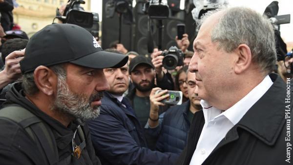 Патриотический контрпереворот. Судьба Армении оказалась в руках президента