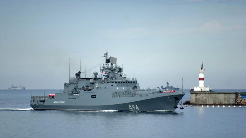 База в Судане. Фрегат Адмирал Григорович впервые в новейшей истории России зашел в Порт– Судан