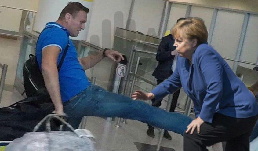 Европейцы покопались в прошлом Навального и осознали, какую гниду пытался пригреть Берлин