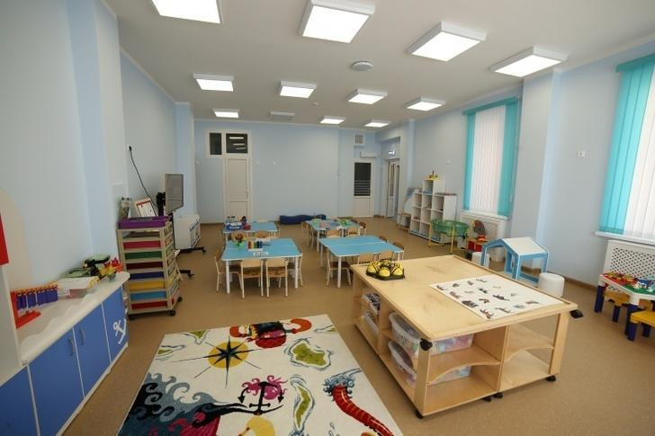 В детский сад принимают малышей до трех лет