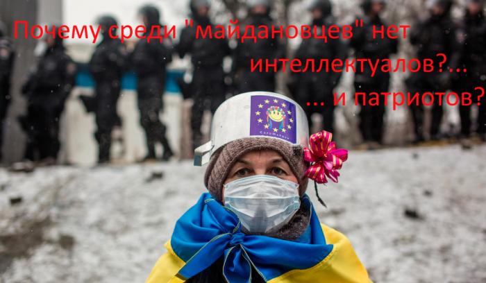Почему в Украине во власти нет интеллектуалов и патриотов?