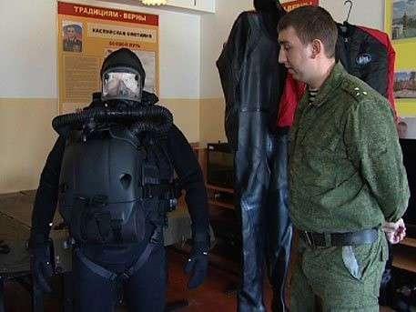 Подводный спецназ Каспийской флотилии получил уникальные гидрокостюмы-невидимки «Амфора»