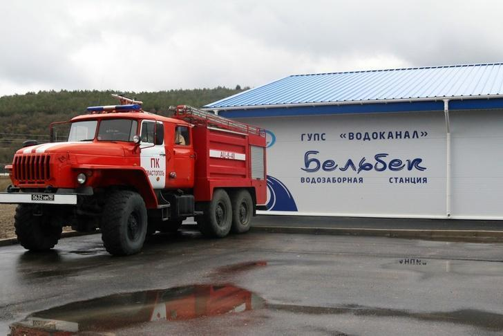 В Севастополе запустили в эксплуатацию новый водозабор на реке Бельбек