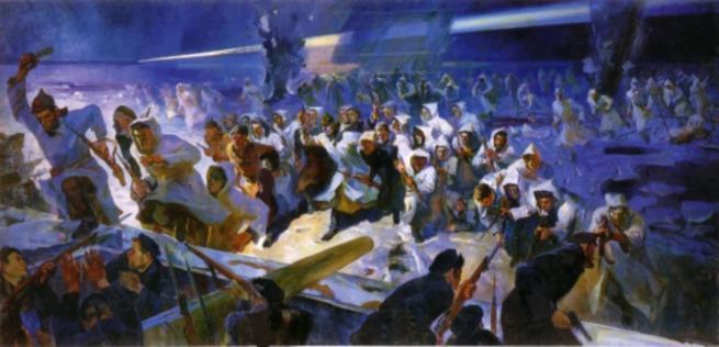 100 лет назад разгромлен Кронштадт, а вместе с ним все буржуи в лице матросов, рабочих и крестьян