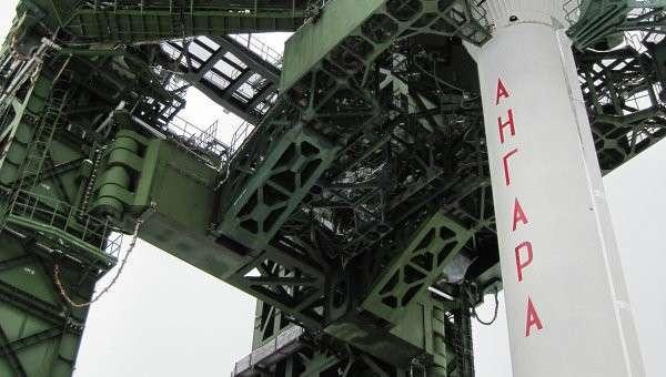Стартовый комплекс Ангара на космодроме Плесецк. Архивное фото