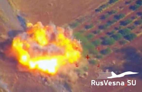 Сирия – враг нанёс страшный удар, ВКС России мгновенно отомстили | Русская весна