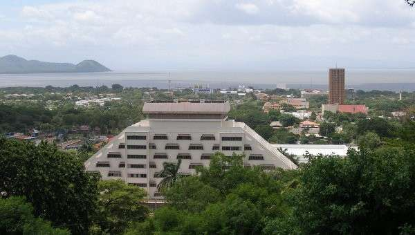 Манагуа, столица Никарагуа. Архивное фото