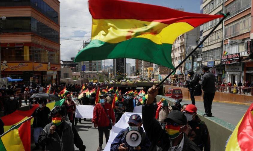 Сторонники проамериканских политиков в Боливии не унимаются