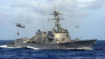 Миноносец USS Dewey (DDG-105)