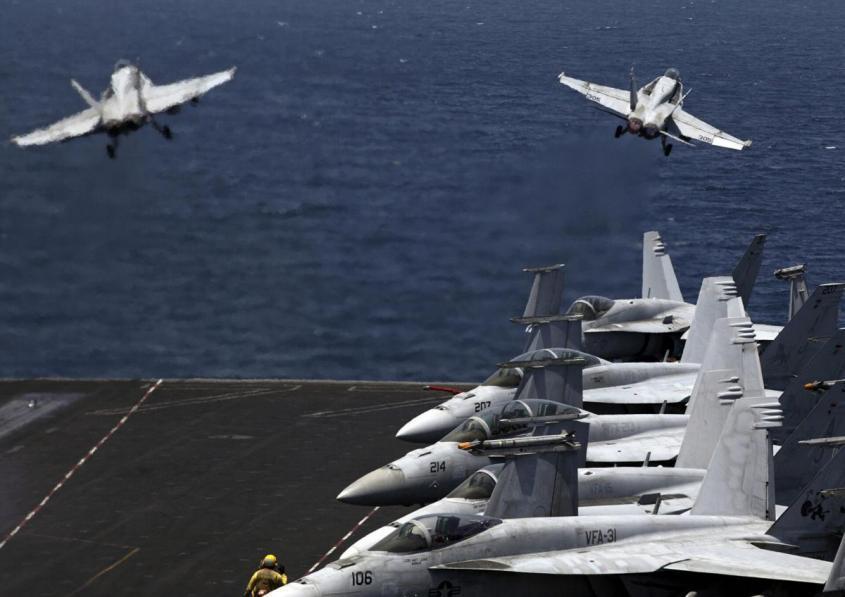 Что США решили сделать со своими авианосцами: «Больше не потянем»