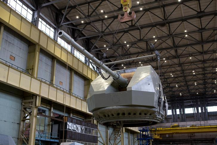 130-мм корабельная артиллерийская установка А-192М запущена в серийное производство