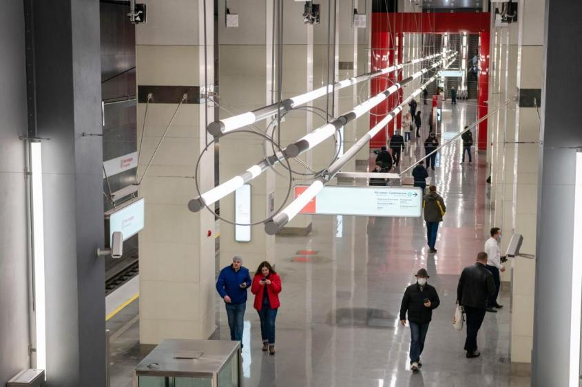 В Москве открылись две новые станции Большой кольцевой линии метро