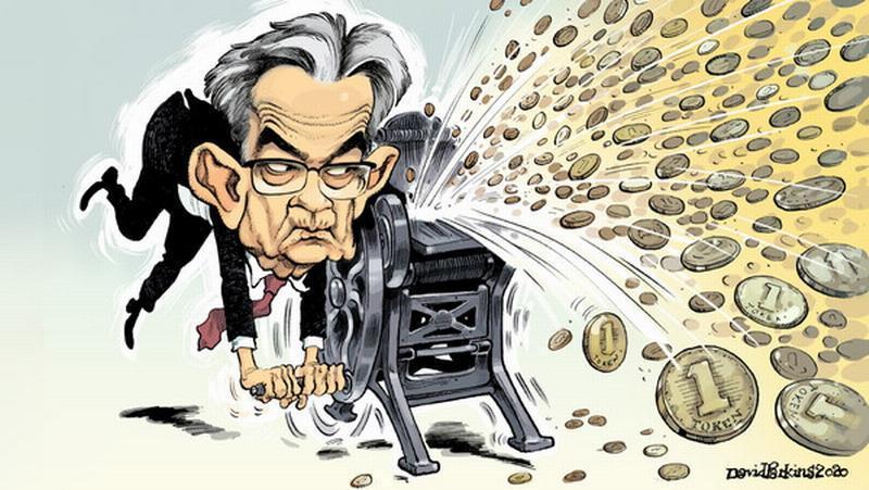 Как паразиты из ФРС США делает всех нас беднее