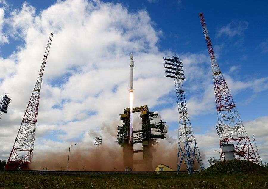 Владимир Путин принял участие в запуске ракеты-носителя «Ангара»