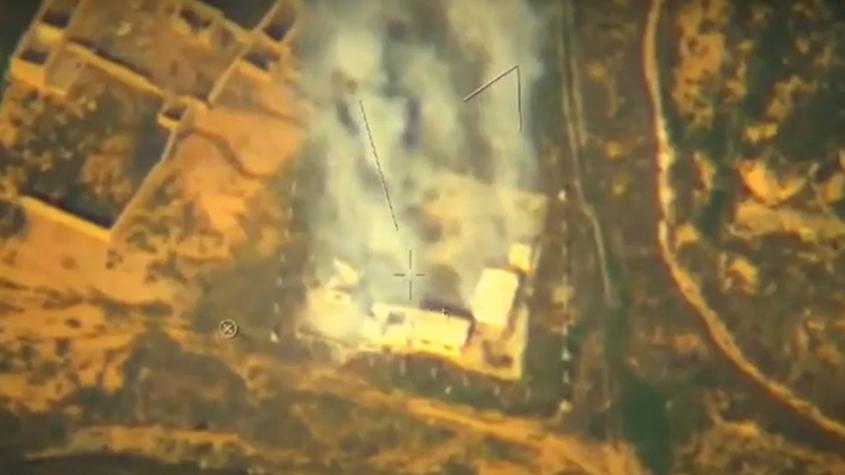 Опубликовано видео ударов беспилотника Орион по террористам в Сирии – РИА Новости, 1920, 22.02.2021